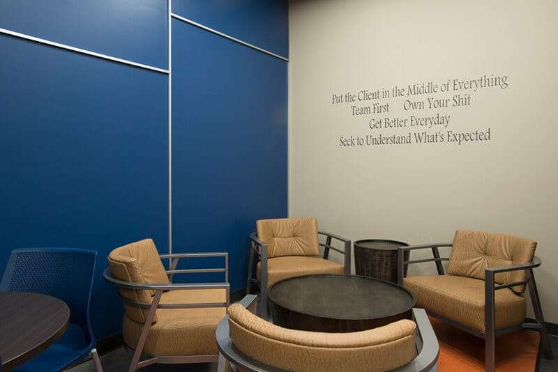 Henderson Insurance Staff Room, Moose Jaw Office, Careers, Values